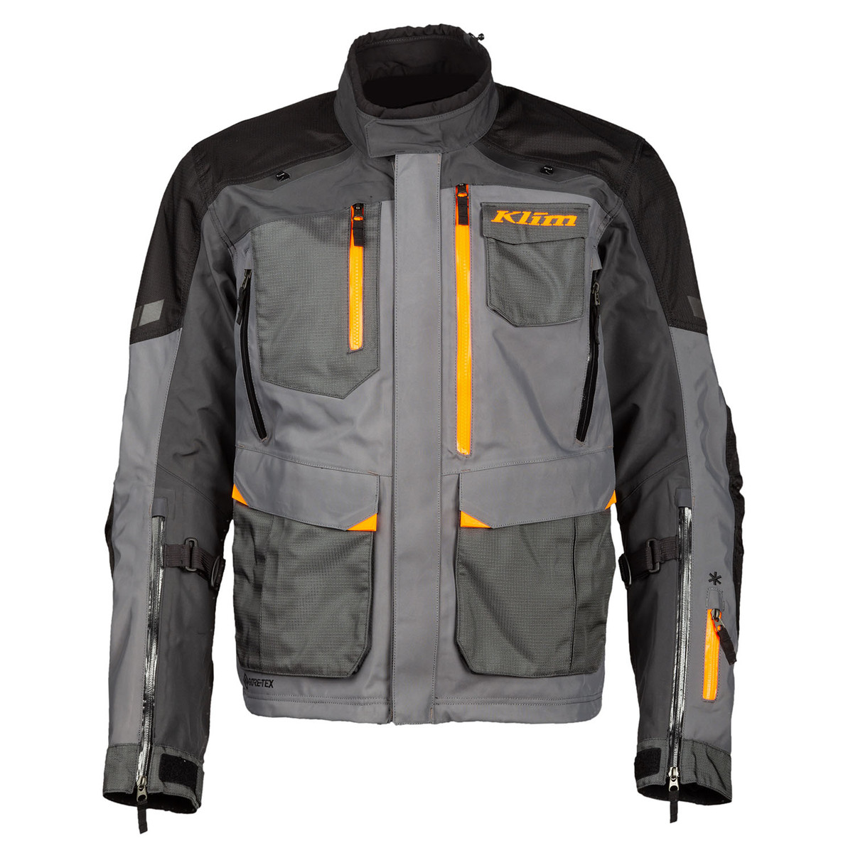 Klim Carlsbad Veste De Moto Asphalt Strike Orange 2XL