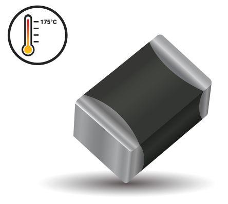 AVX , VT Metal Oxide Varistor 90pF, Clamping 67V, Varistor 25 V ac, 31 V dc, 0603 (1608M) (1000)