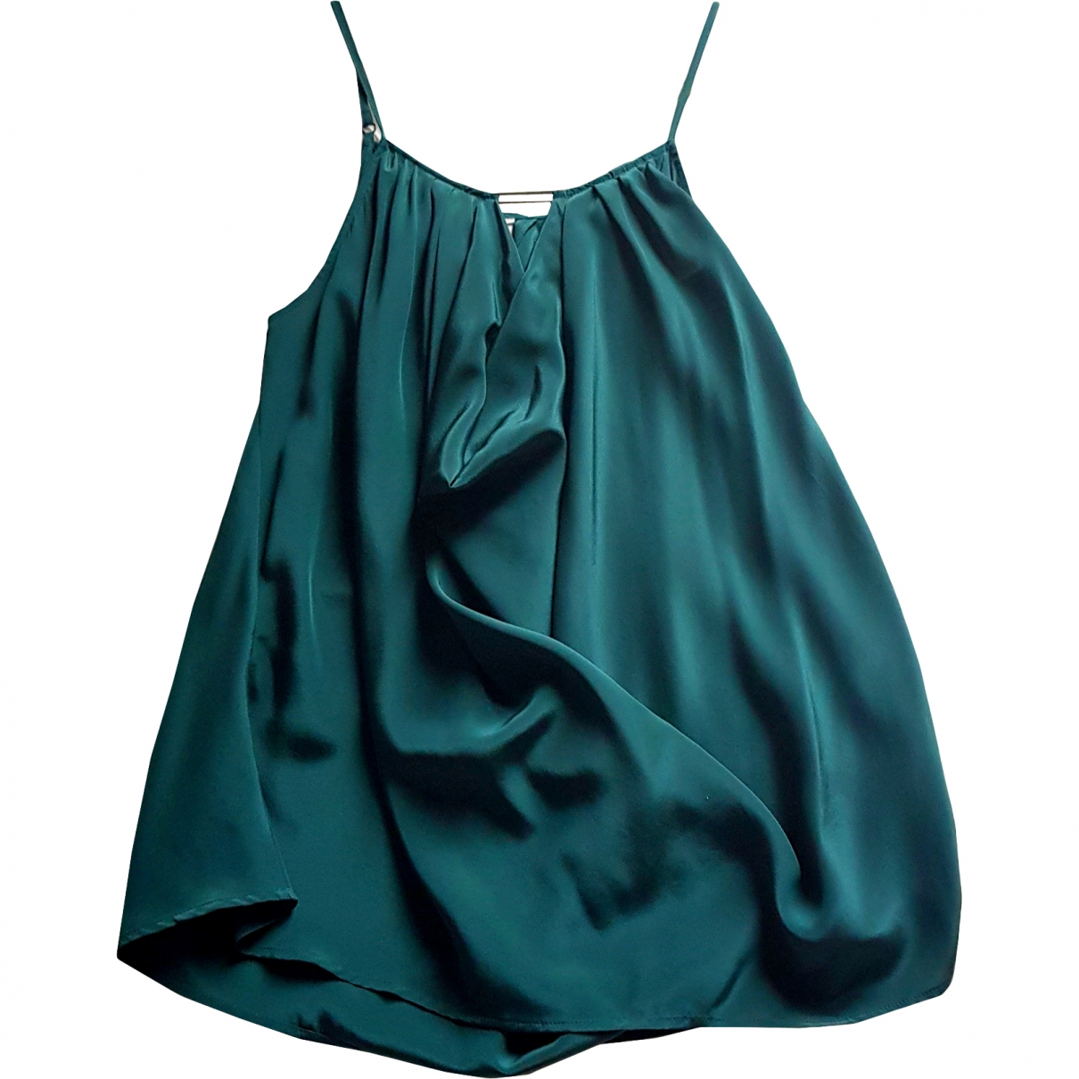 Bel Air \N Green Silk  top for Women 4 US