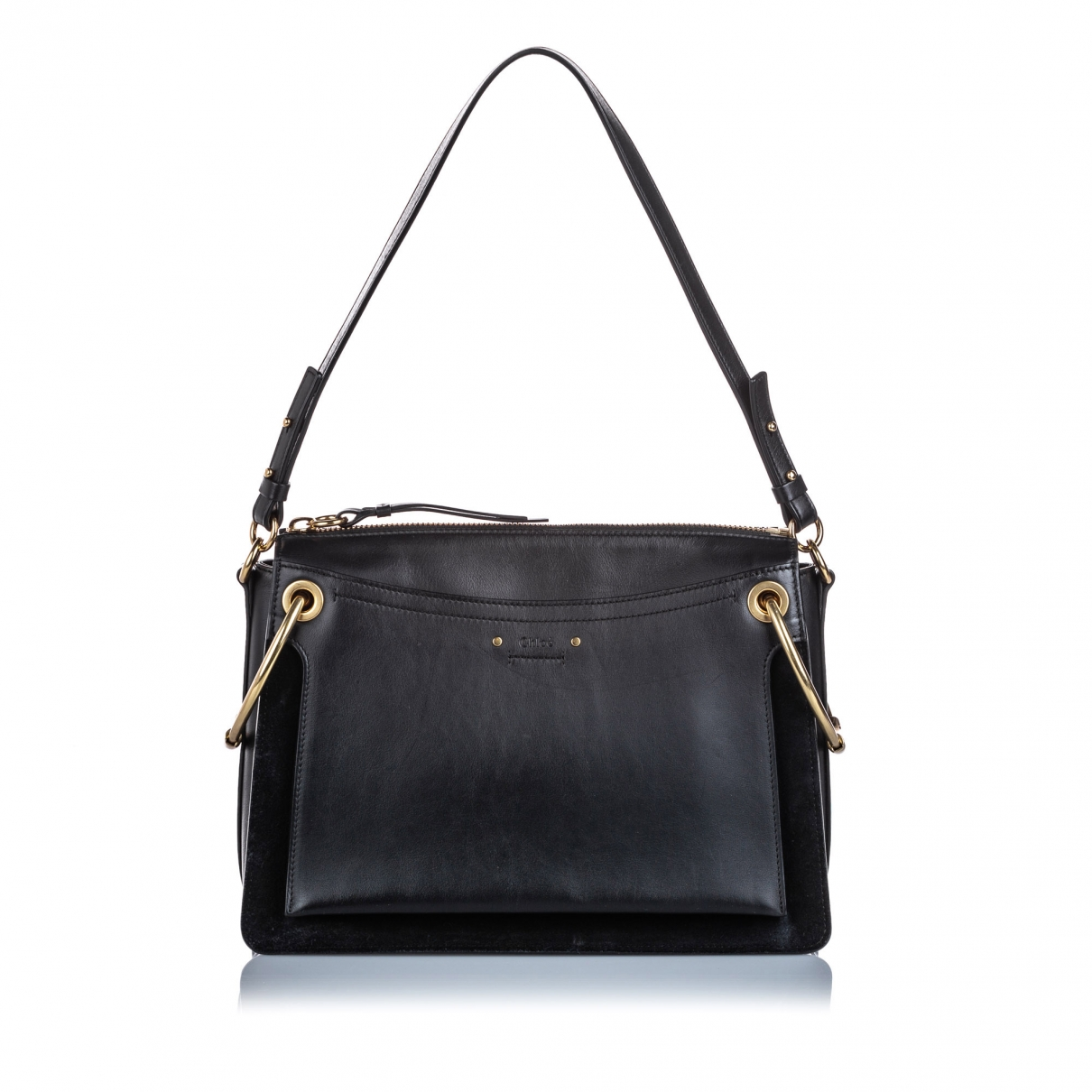 Chloé Roy Black Leather handbag for Women \N