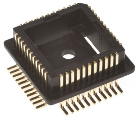Winslow Right Angle SMT Mount 1.27mm Pitch IC Socket Adapter, 84 Pin Male PLCC to 84 Pin Male PLCC