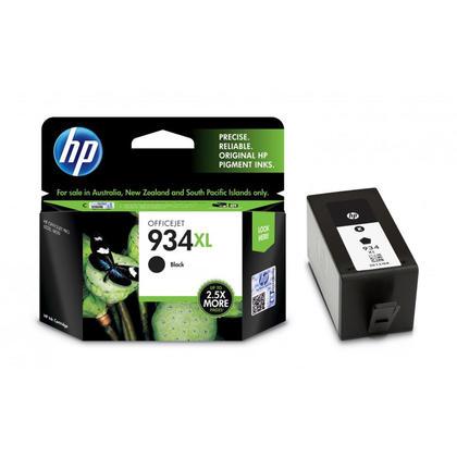 HP 934XL C2P23AN Original Black Ink Cartridge High Yield
