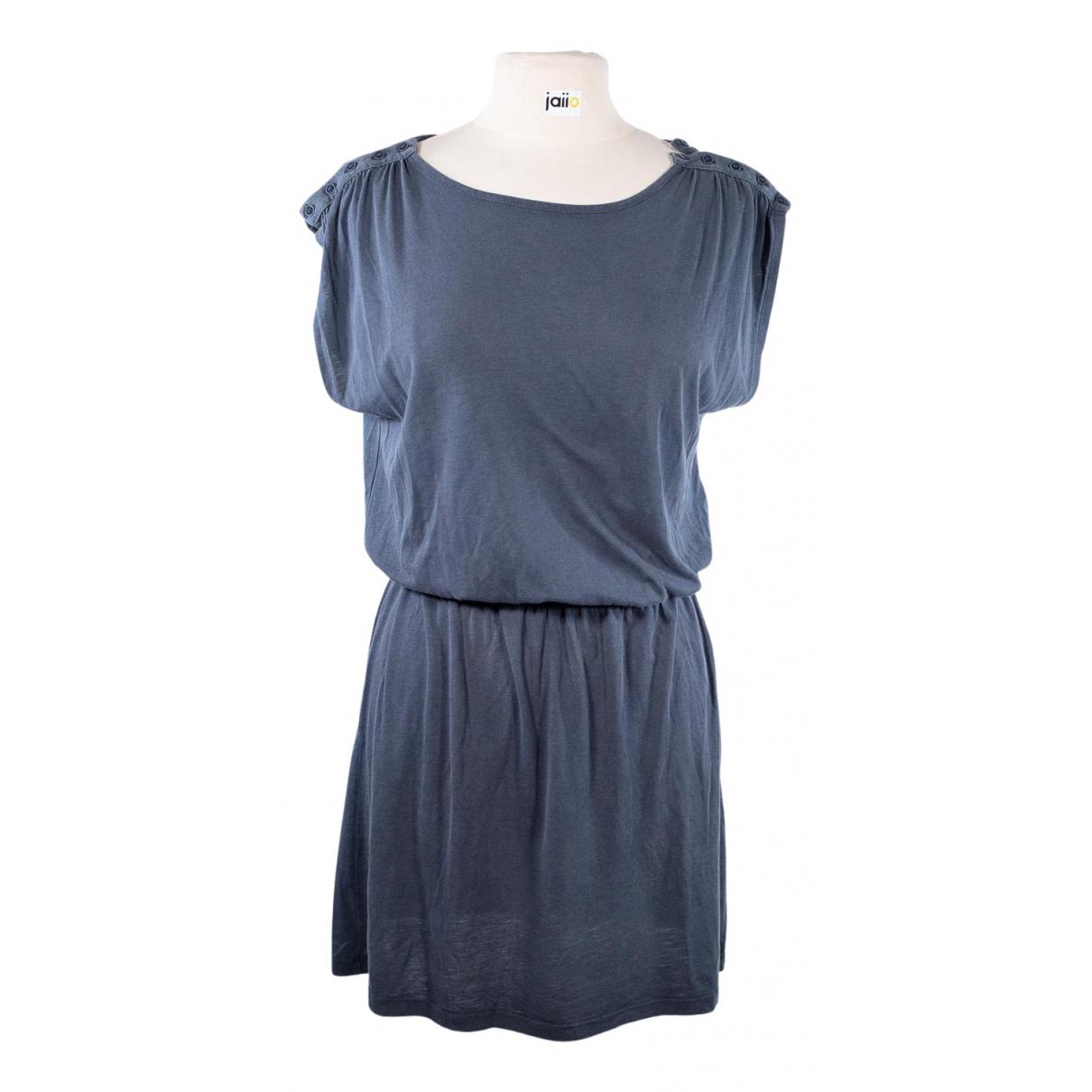 Sessun \N Kleid in  Blau Baumwolle