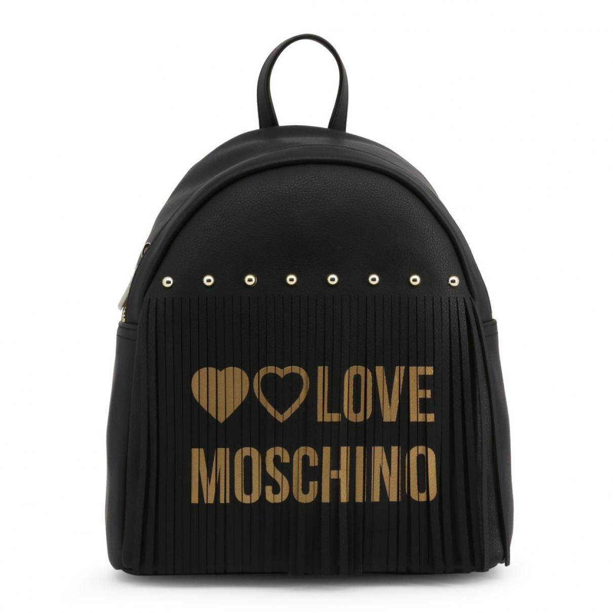 Moschino Love \N Rucksaecke in  Schwarz Synthetik