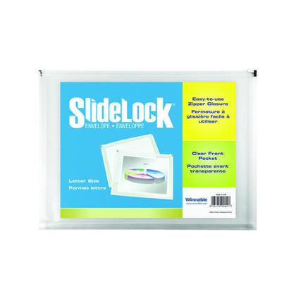 Winnable SlideLock@ Zippered Envelope (10 x 15