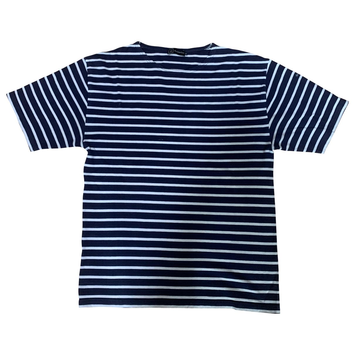 Armor-lux \N Navy Cotton T-shirts for Men 3 0 - 6