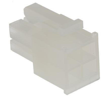Molex , Mini-Fit Jr Female Connector Housing, 4.2mm Pitch, 4 Way, 2 Row (5)