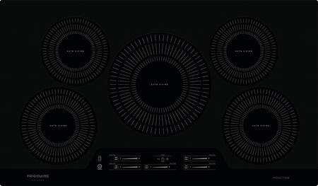 FGIC3666TB 36 Gallery Series Induction Cooktop with 5 Elements  in
