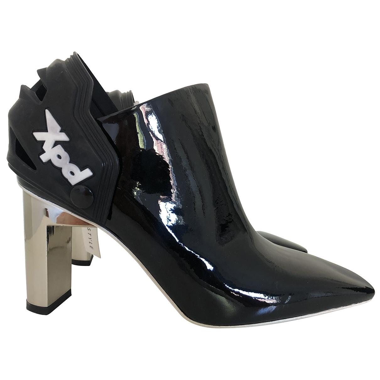 Alyx \N Stiefeletten in  Schwarz Lackleder
