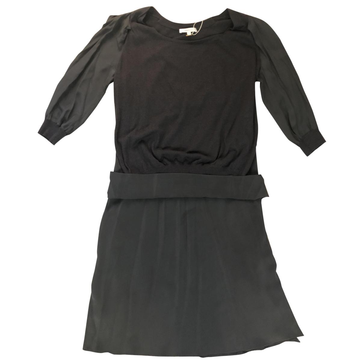 Vanessa Bruno \N Kleid in  Grau Wolle