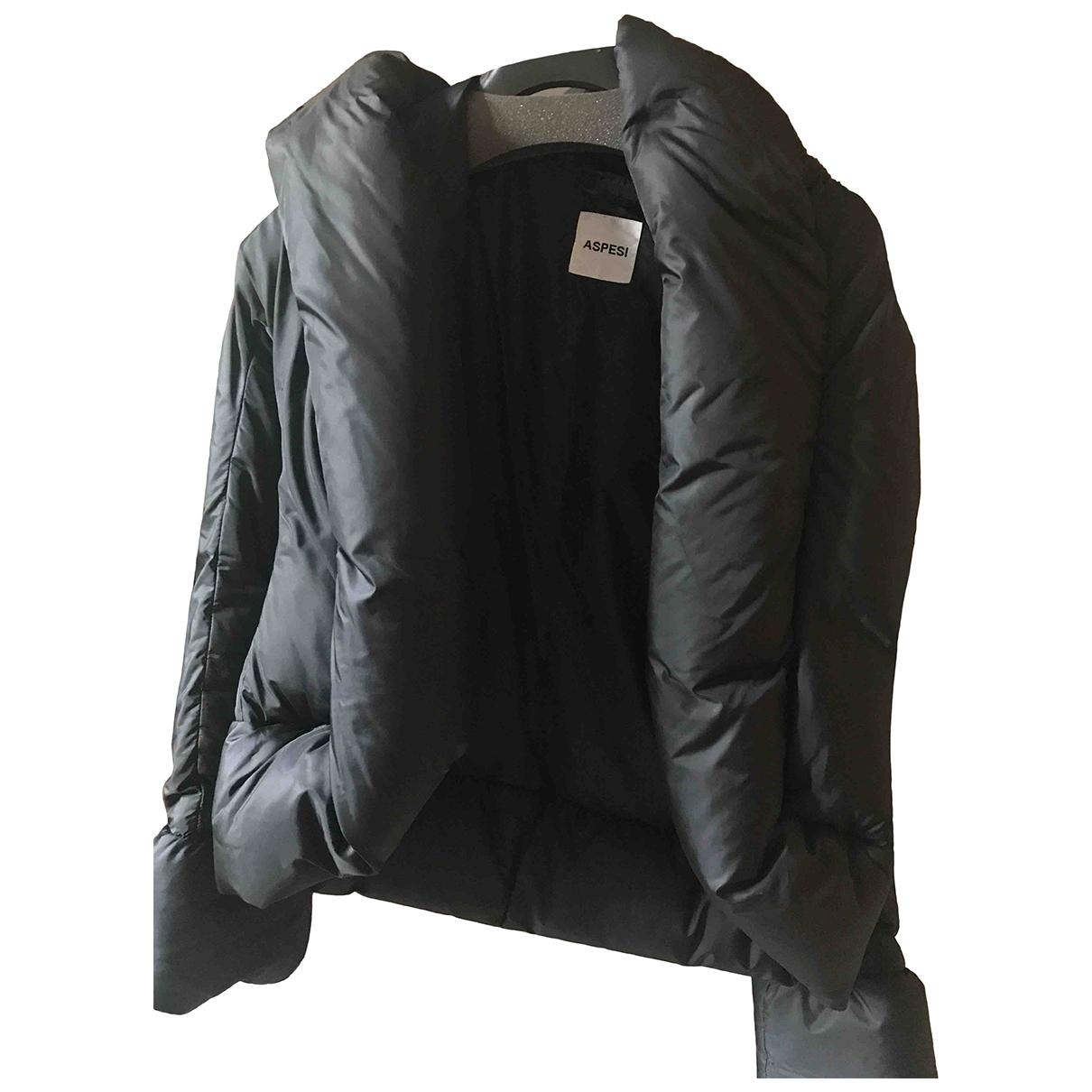 Aspesi \N Jacke in  Schwarz Polyester