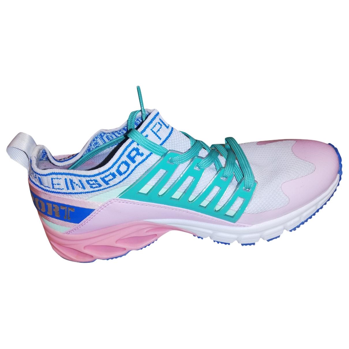 Philipp Plein \N Sneakers in  Rosa Kautschuk