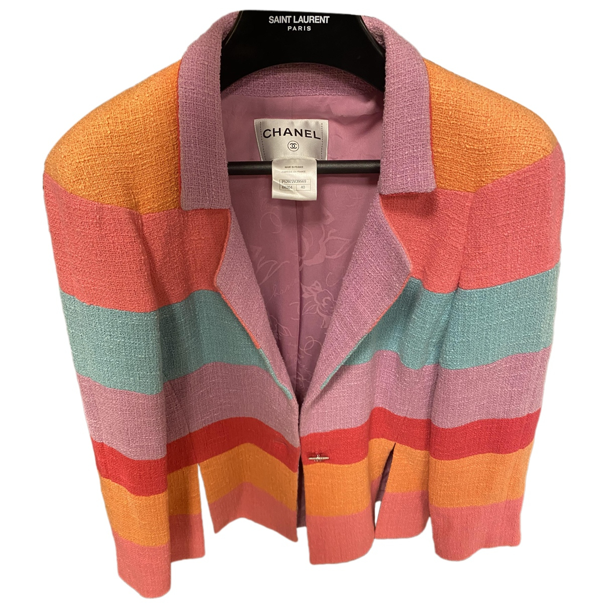 Chanel N Multicolour Cotton jacket for Women 40 FR