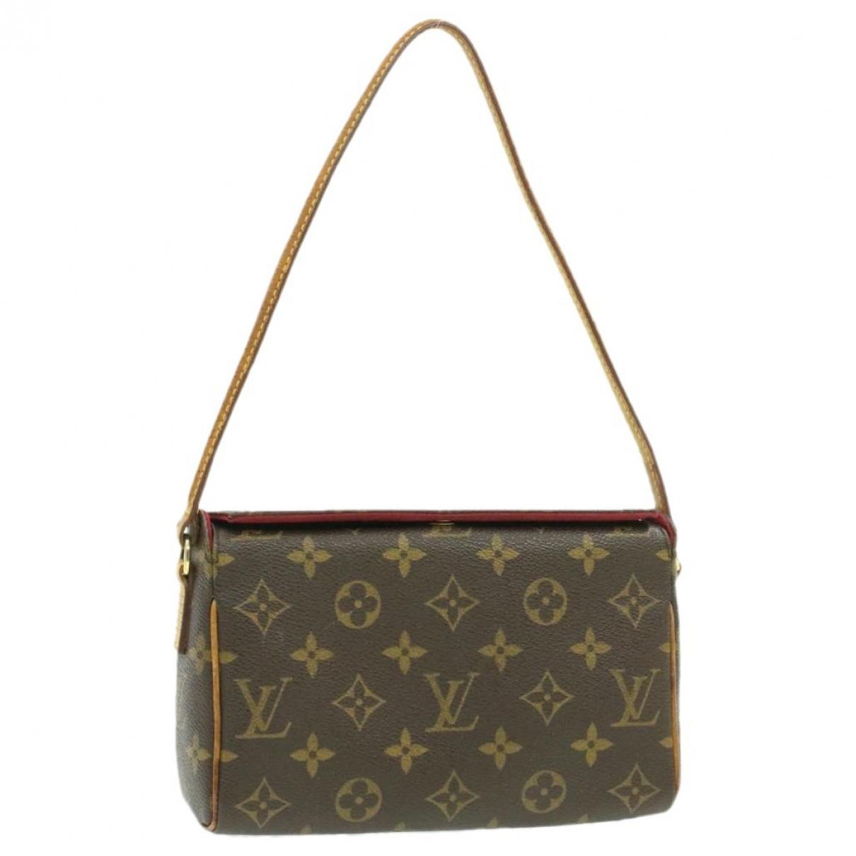 Louis Vuitton - Sac a main Recital pour femme en toile - marron