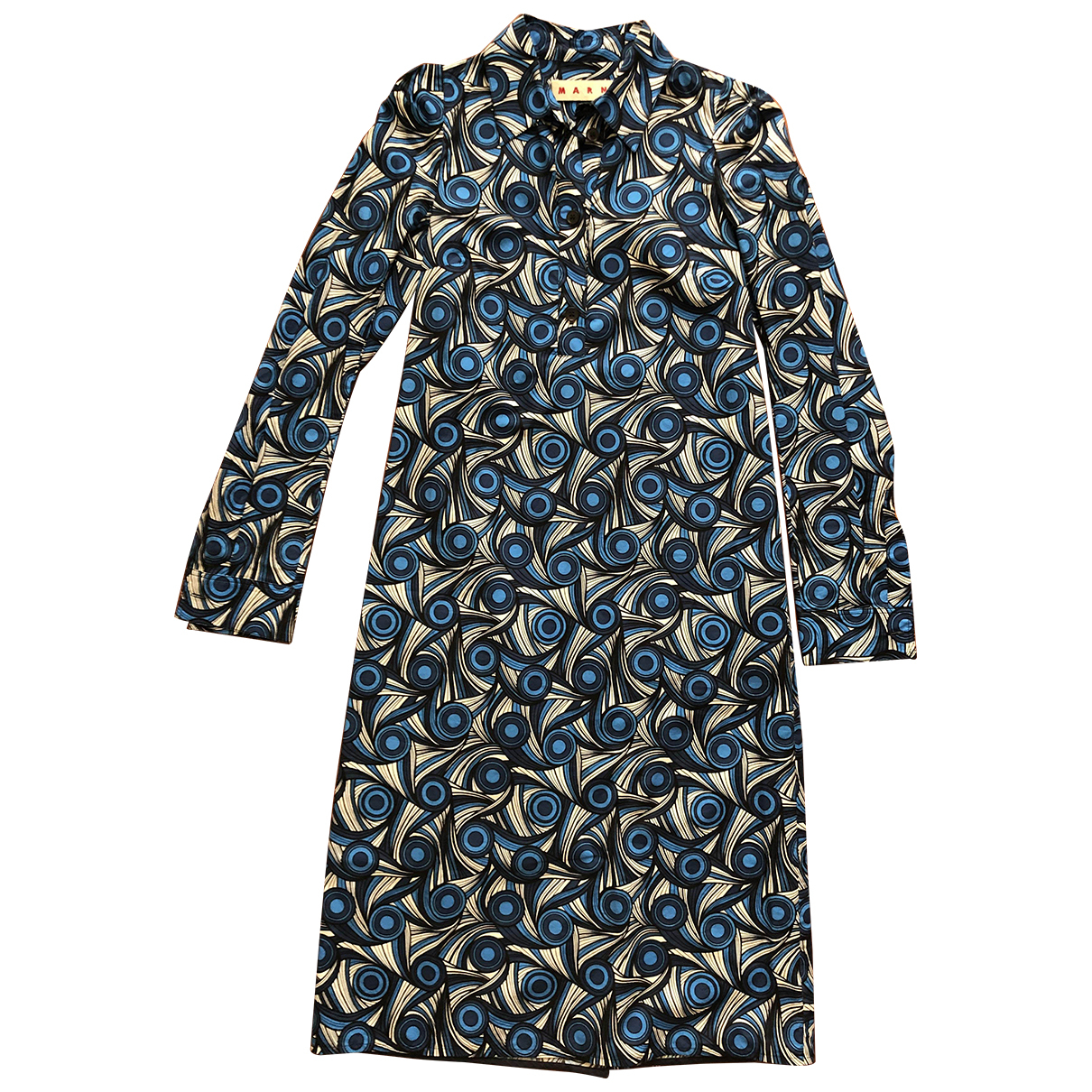 Marni \N Blue Cotton dress for Women 40 IT