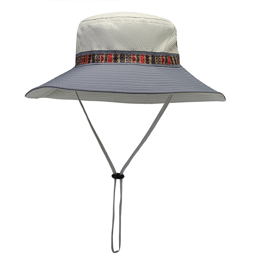 Woman Foldable Quick-drying Cap Tie Hair Sun Hat Running Cap