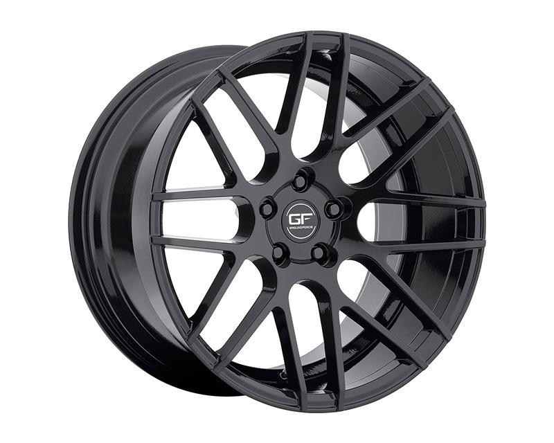 MRR Design Gloss Black GF7 Wheel 18x8