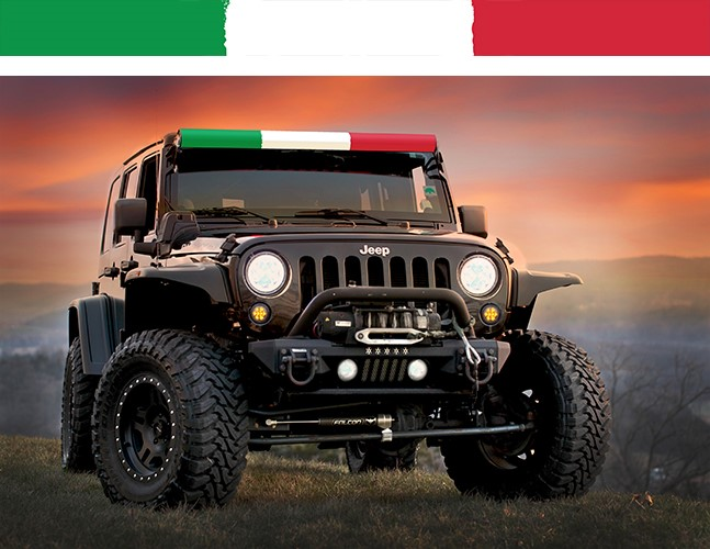 AeroLidz ITALFLG52 LED Light Bar Cover Insert 52 Inch Italian Flag