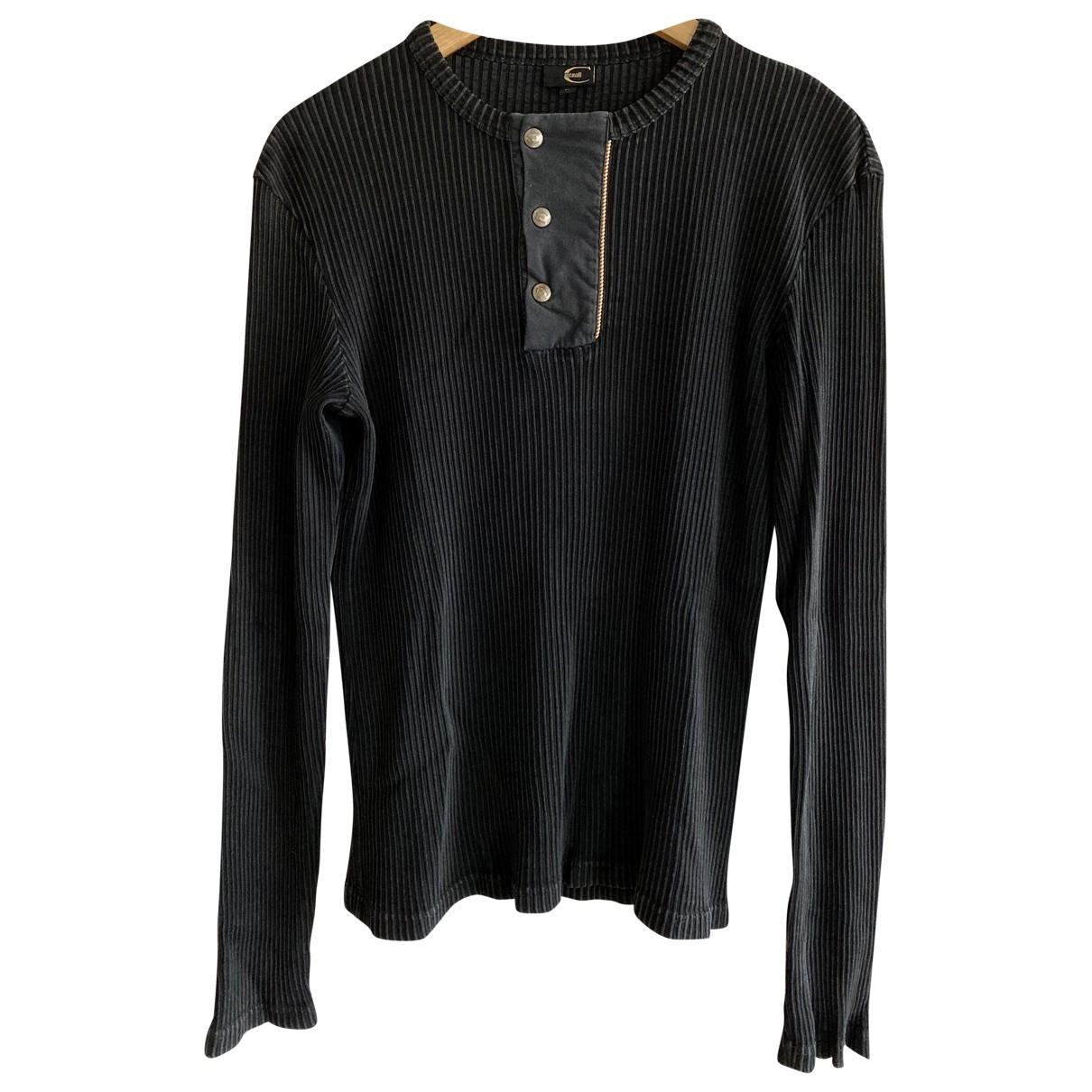 Just Cavalli - Pulls.Gilets.Sweats   pour homme en coton - noir