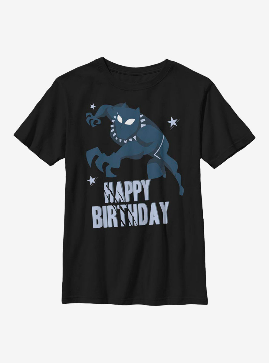 Marvel Black Panther Birthday Youth T-Shirt