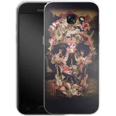 Samsung Galaxy A5 (2017) Silikon Handyhuelle - Jungle Skull von Ali Gulec