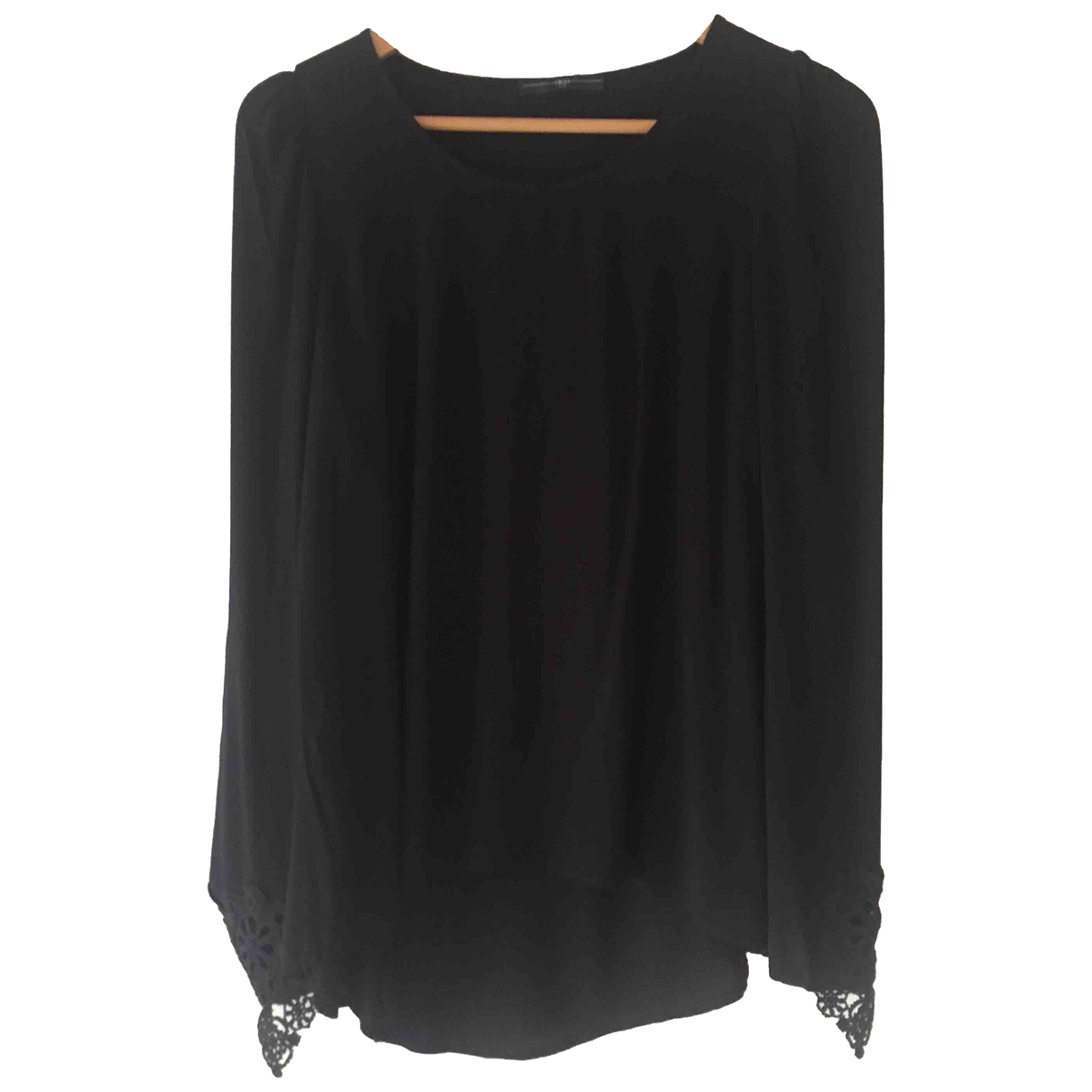 Claire Campbell \N Black Cotton  top for Women 40 FR