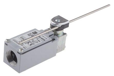 RS PRO , Snap Limit Switch - Zinc Alloy, NO/NC, Adjustable Lever, 400V, IP66