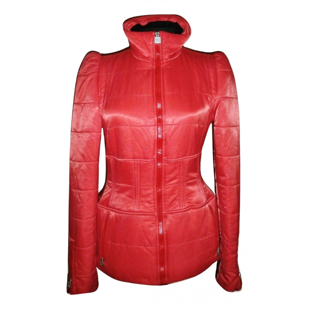 Chanel \N Red jacket for Women 38 FR