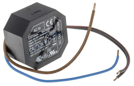 Friwo , 6W Embedded Switch Mode Power Supply SMPS, 12V dc, Encapsulated