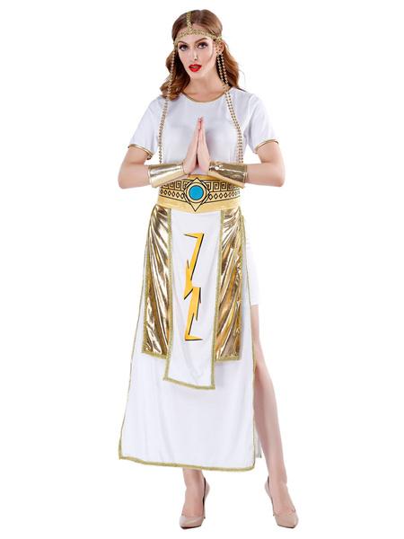 Milanoo Sexy Goddess Costumes Halloween Women Dresses Outfit