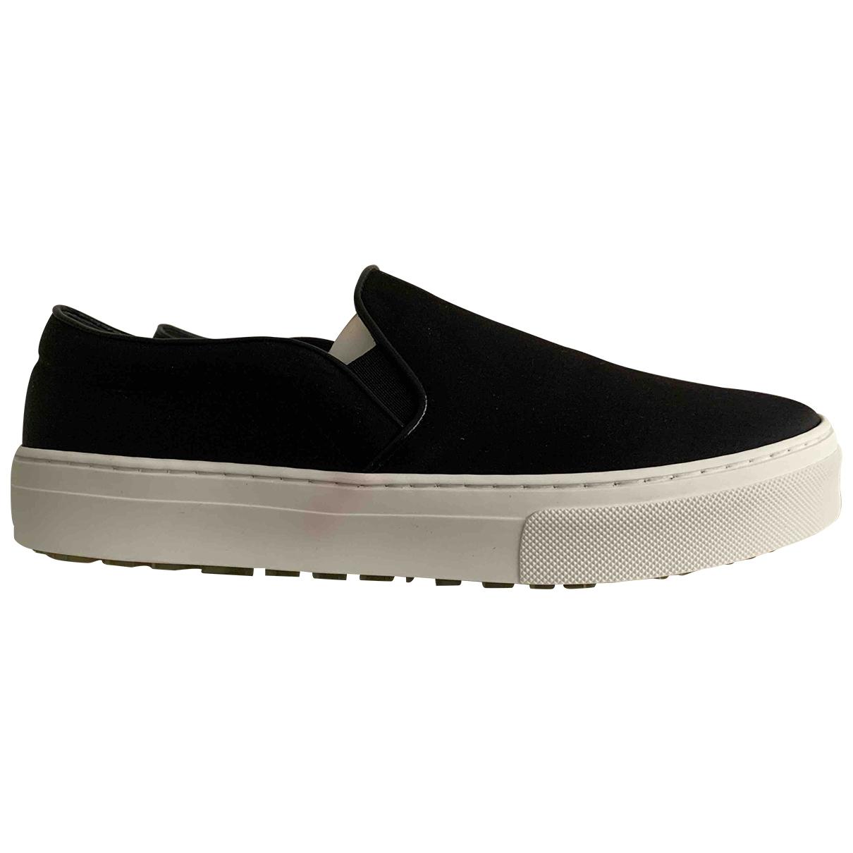 Celine \N Sneakers in  Schwarz Leinen