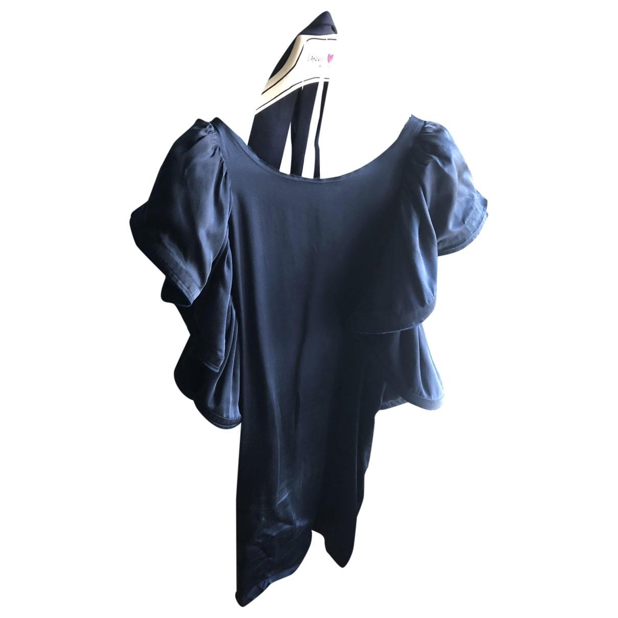 Lanvin For H&m \N Blue Silk dress for Women S International