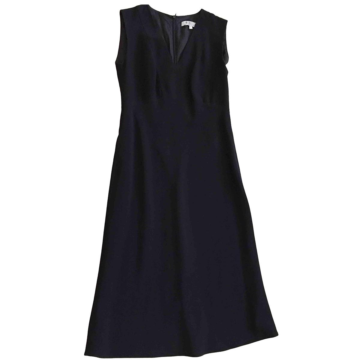 Marella N Black Wool dress for Women 42 FR