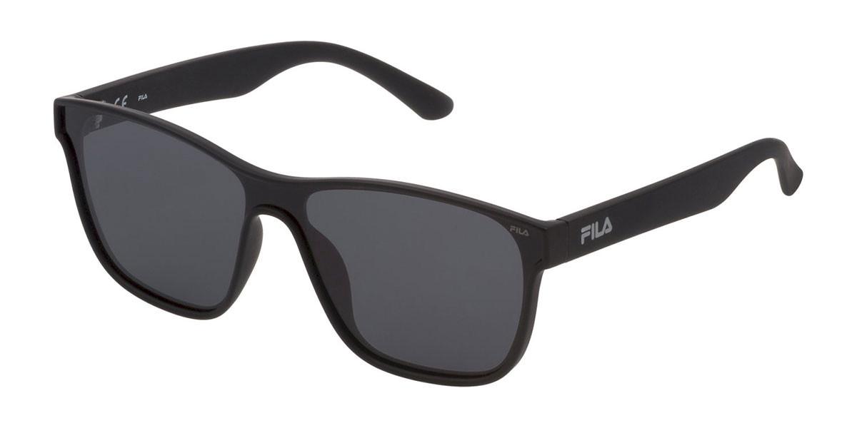 Fila SF9327 Polarized U28P Men's Sunglasses Black Size 99
