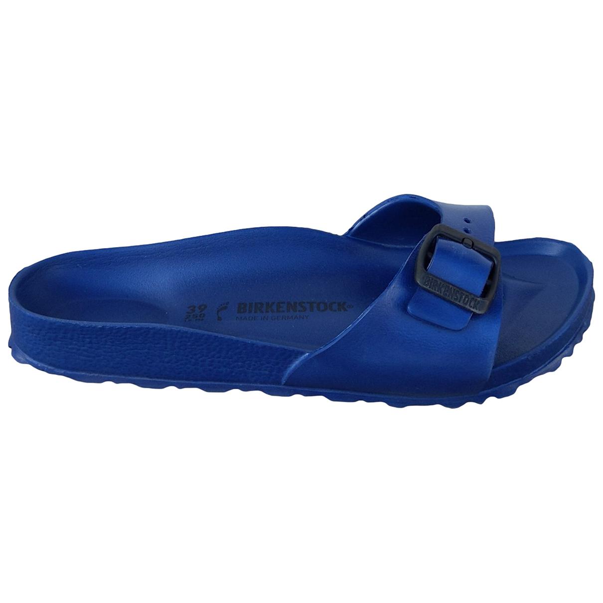 Birkenstock \N Sandalen in  Blau Kautschuk