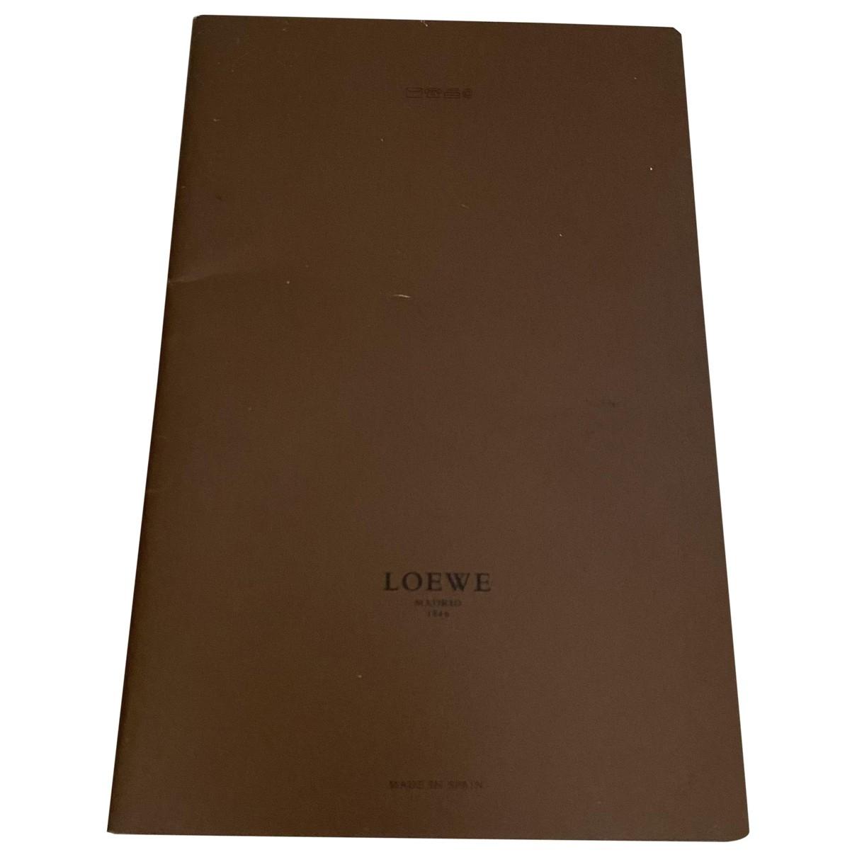 Loewe - Objets & Deco   pour lifestyle en coton - marron