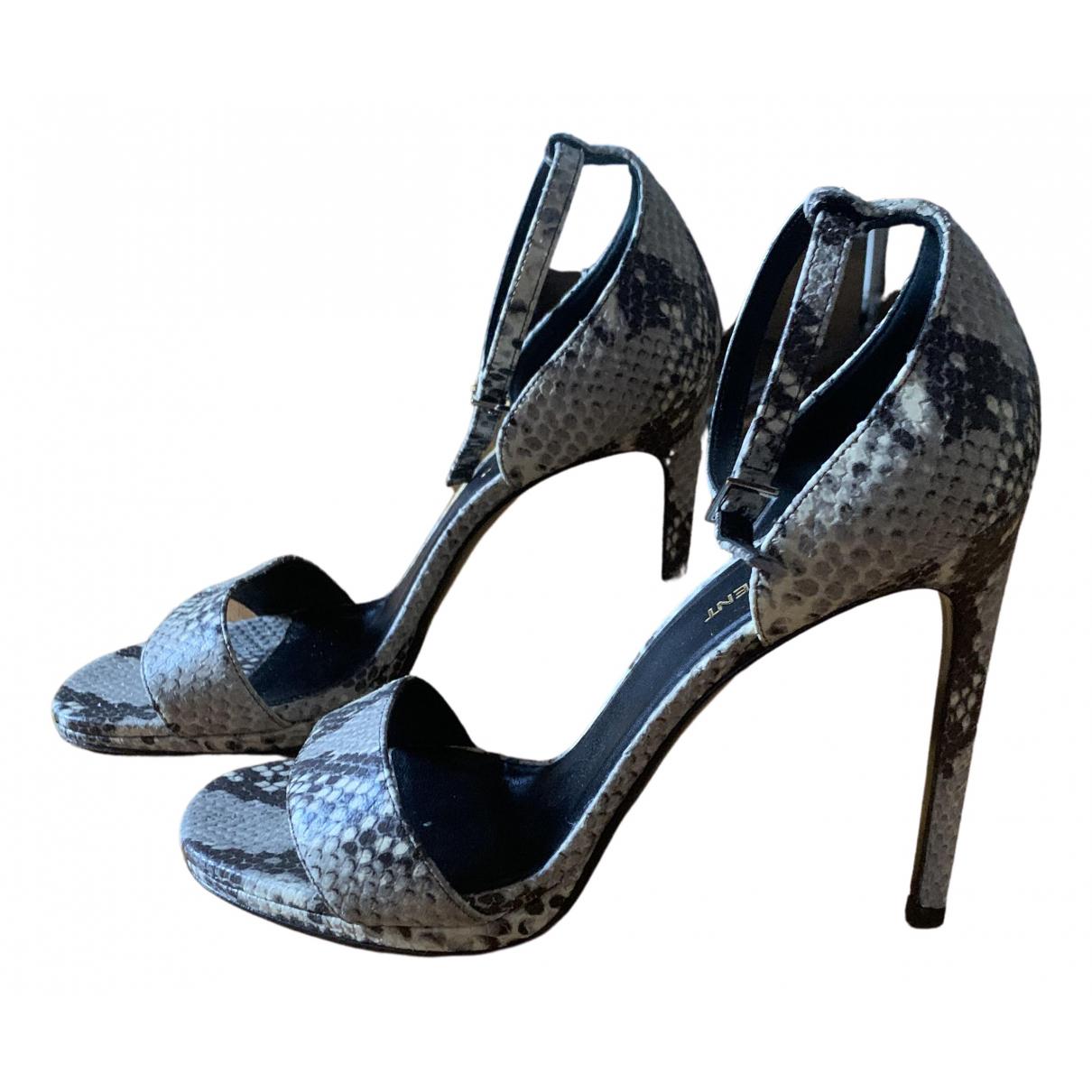 Sandalias de Cuero Saint Laurent