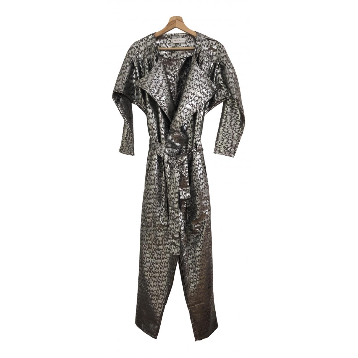 Weili Zheng \N Kleid in  Silber Polyester