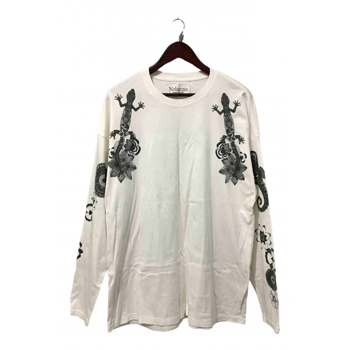 Miharayasuhiro \N Pullover.Westen.Sweatshirts  in  Weiss Baumwolle