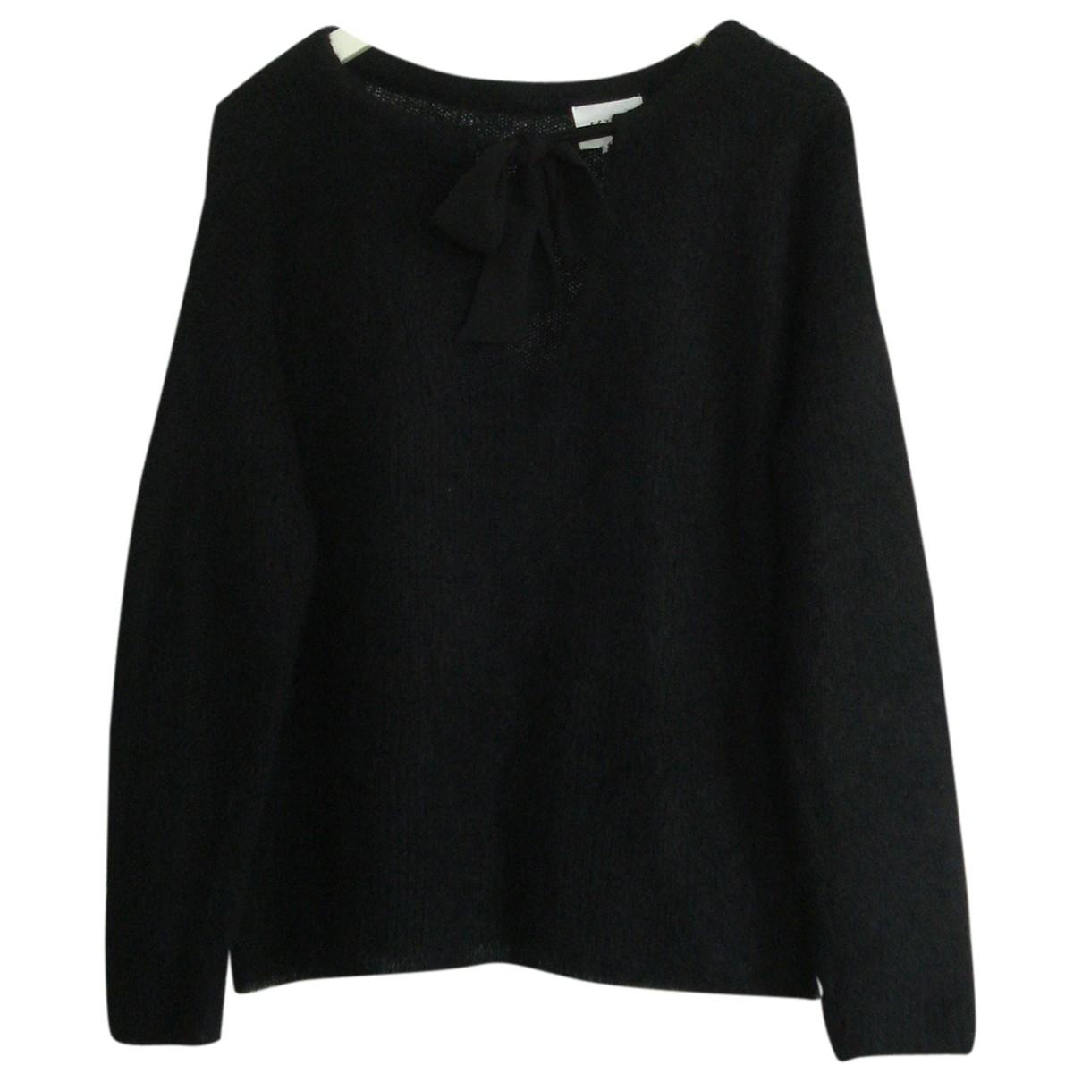 Sezane - Pull   pour femme en laine - noir