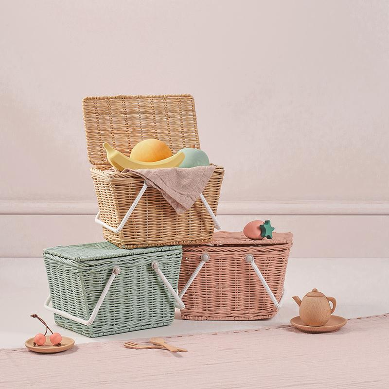 Piki Basket - Straw