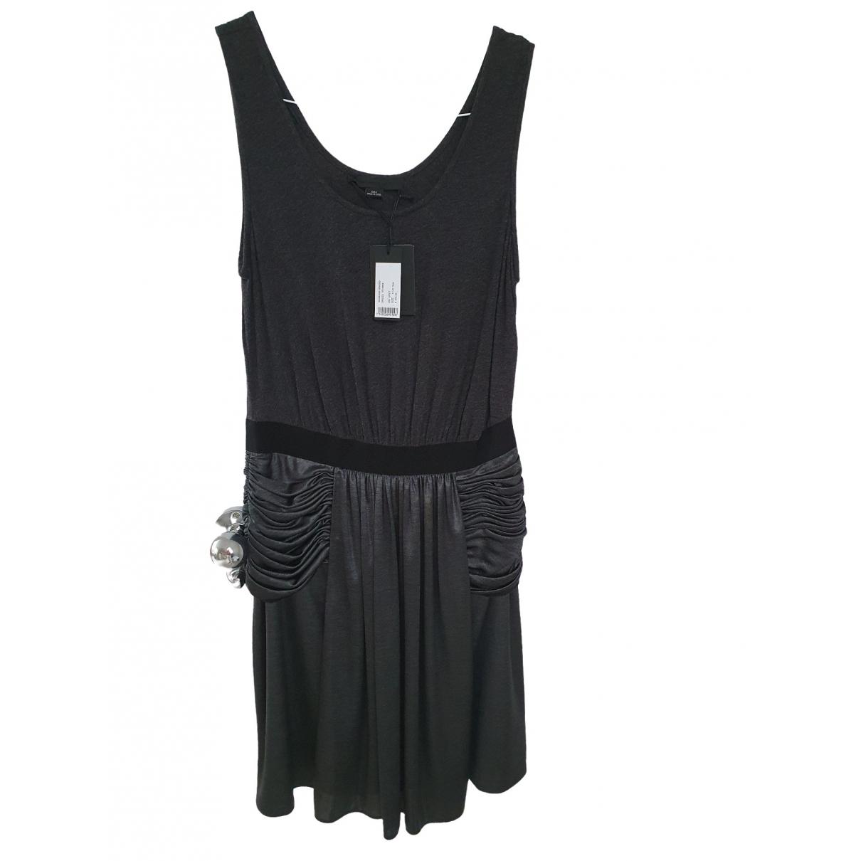 Alexander Wang \N Anthracite Cotton - elasthane dress for Women 8 US