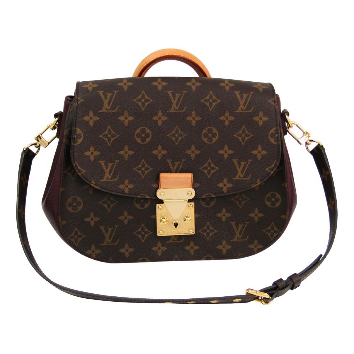 Louis Vuitton - Sac a main Eden pour femme en toile - marron