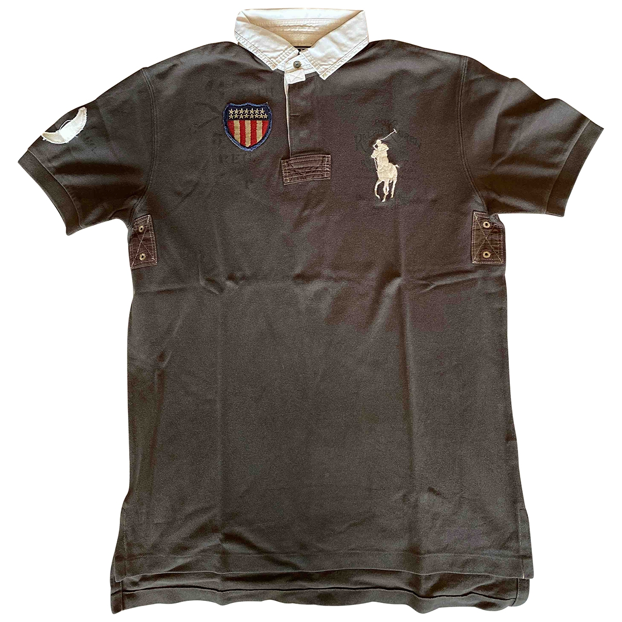 Polo en Algodon Marron Polo Ralph Lauren