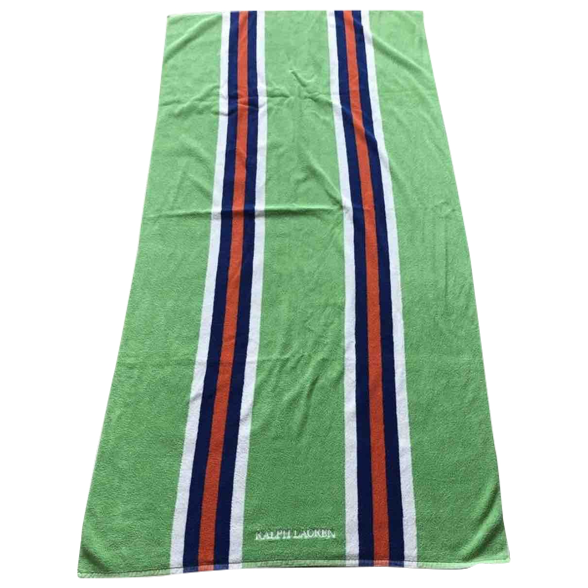 Ralph Lauren - Linge de maison   pour lifestyle en coton - vert