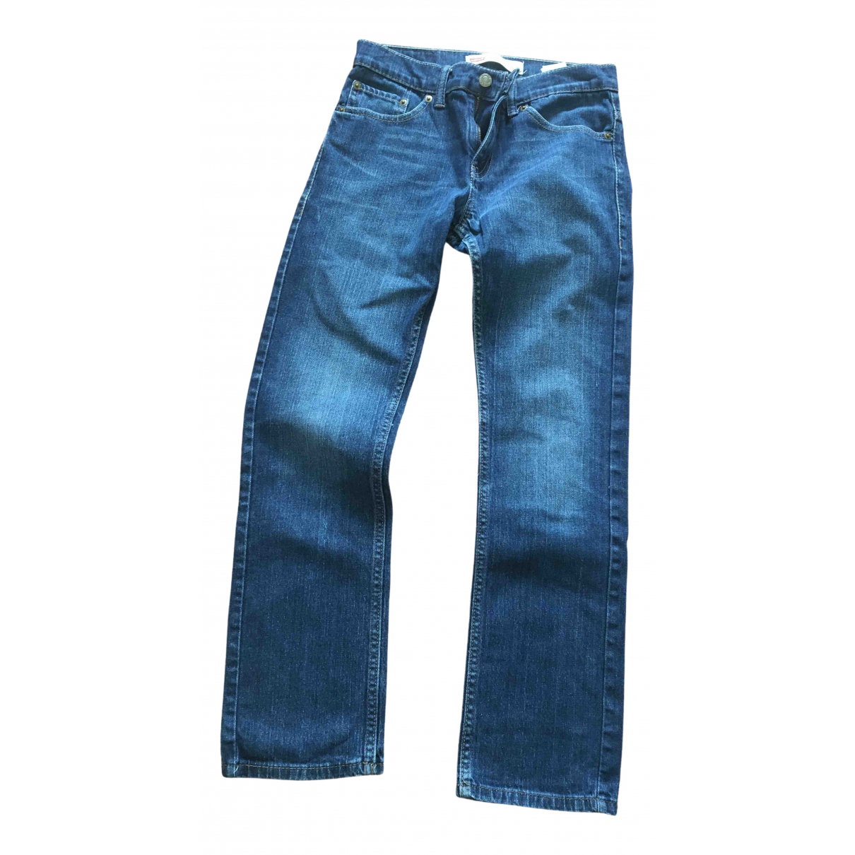 Levi's \N Blue Cotton Trousers for Kids 14 years - S FR