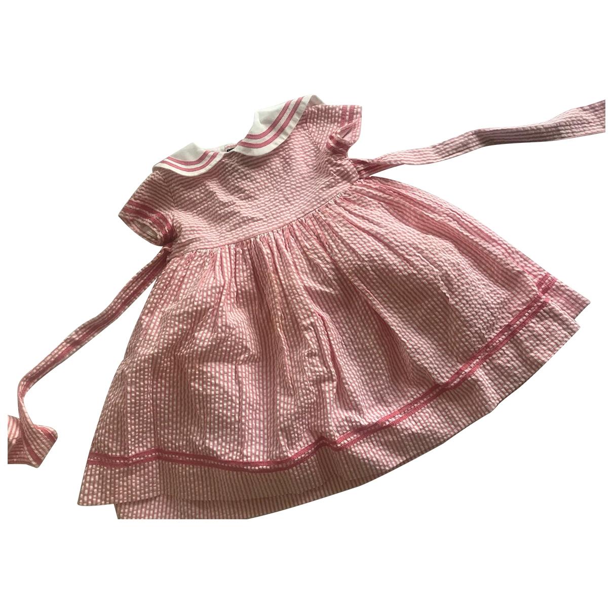 Oscar De La Renta \N Pink Cotton dress for Kids 18 months - until 32 inches UK