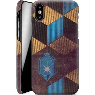 Apple iPhone XS Smartphone Huelle - Cubes Gems von Brent Williams