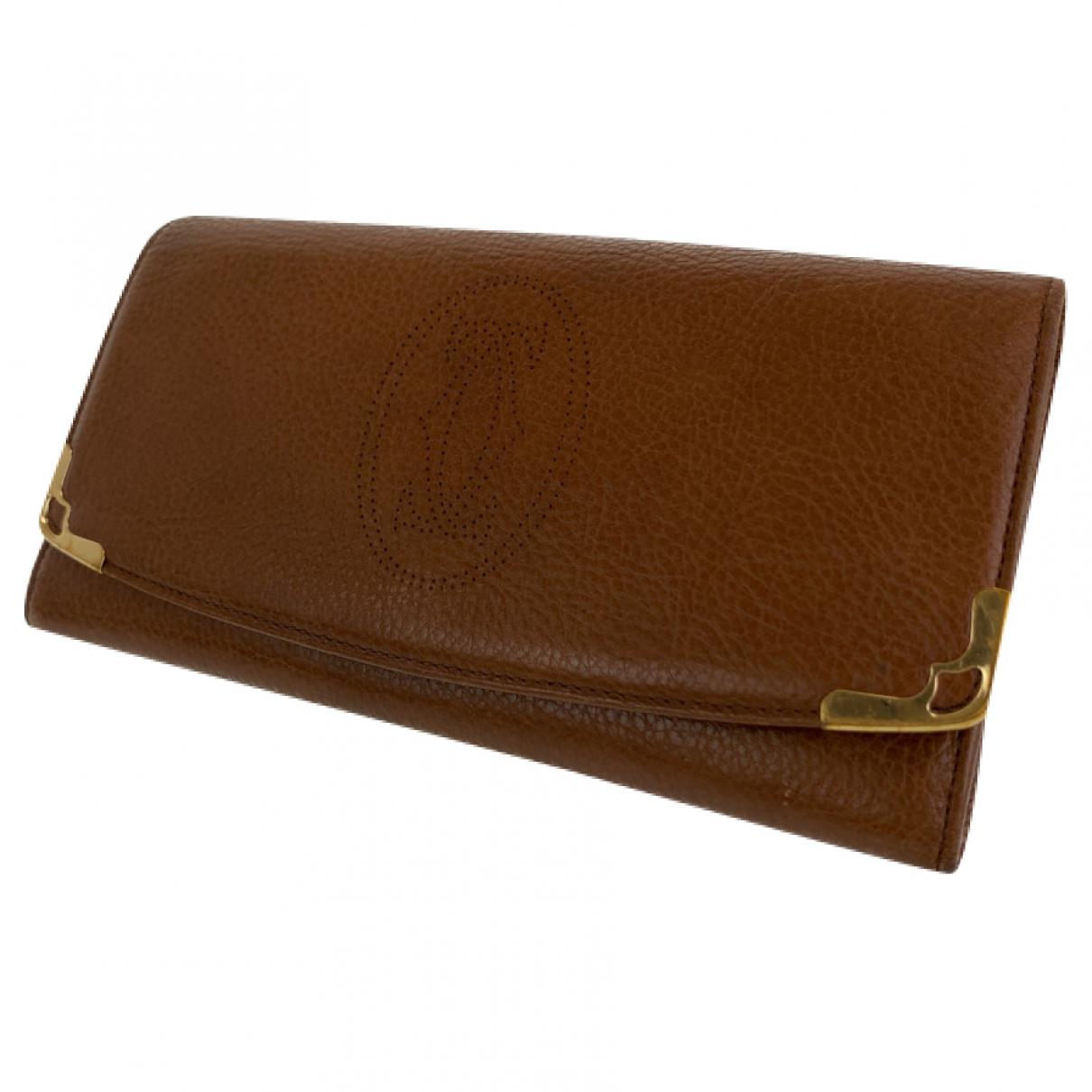 Cartier - Portefeuille   pour femme en cuir