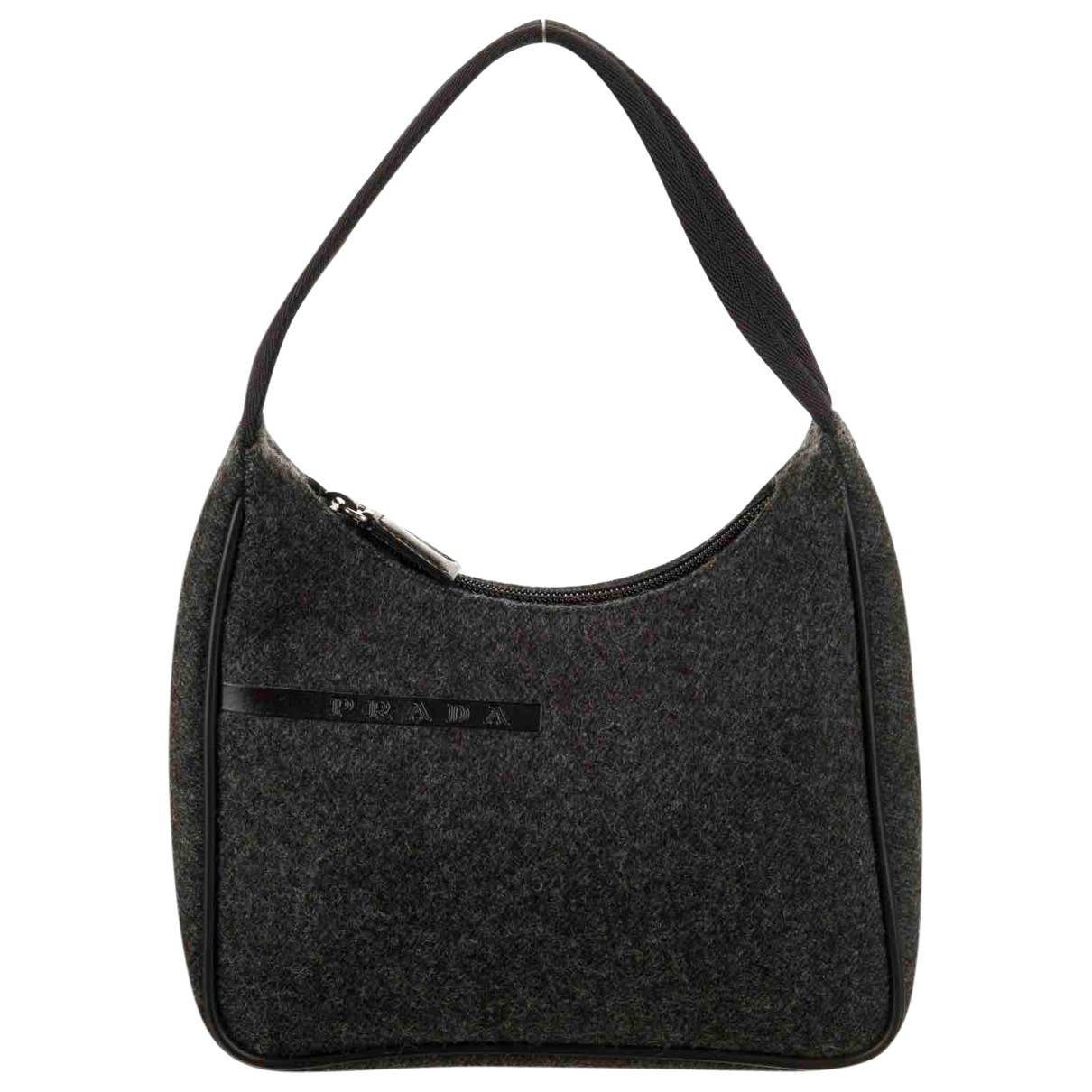 Prada \N Grey Wool handbag for Women \N